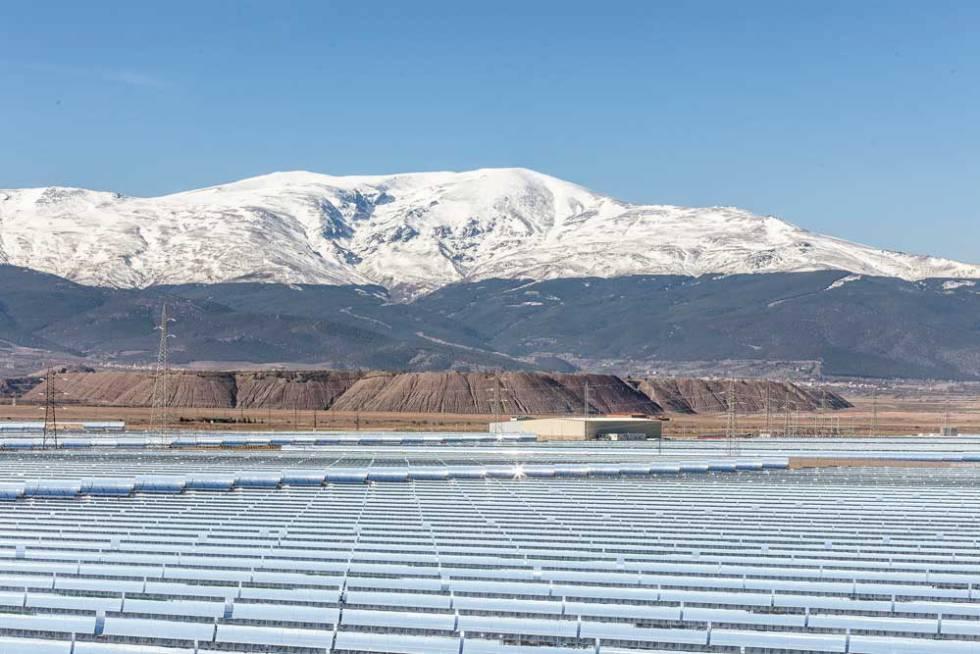 Planta Andasol 3 instalada por Marquesado Solar S.L. en Granada.