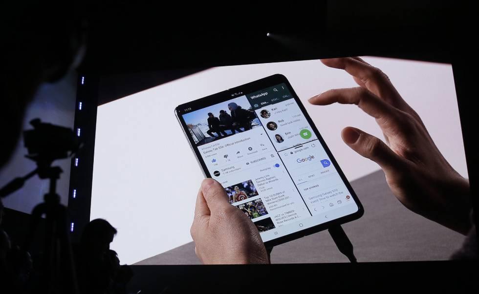38cae0d0693 Galaxy Fold: Samsung venderá el teléfono plegable a partir del 26 de ...