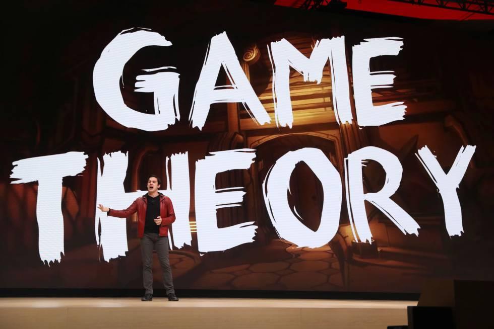 El creador de YouTube MatPat, durante la GDC.