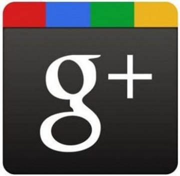 El logo de Google+.