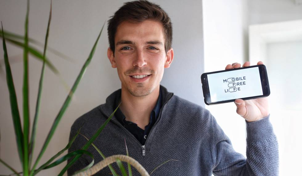 El director de la startup Mobile Free Life, Joan Amorós.