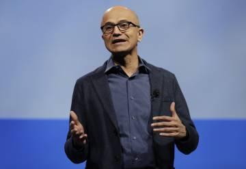 Satya Nadella, presidente de Microsoft, en una imagen de archivo.