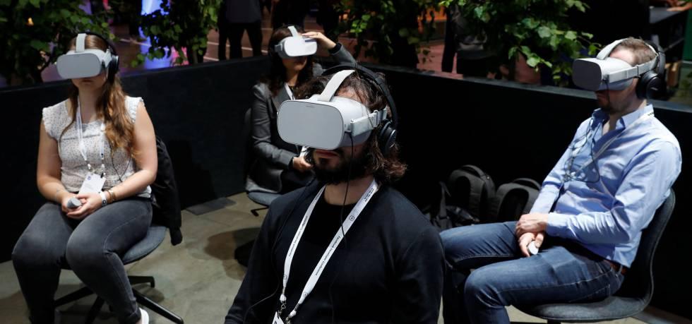 Demostración Oculus Go.