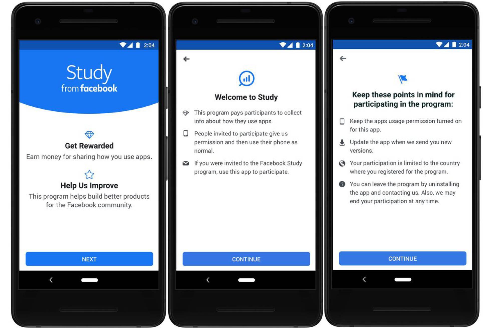 Facebook lanza una aplicación para acceder a los datos de los usuarios a cambio de dinero 1560347825_866607_1560348842_noticia_normal_recorte1