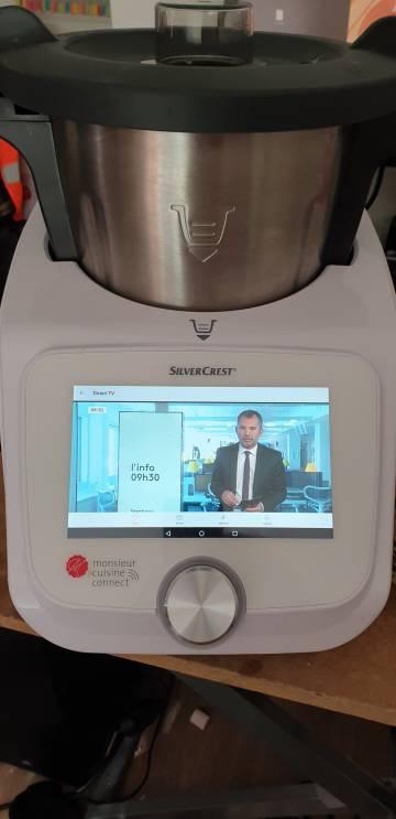 Noticias en el robot de cocina.