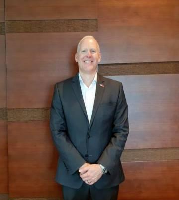 Steve Koenig, vicepresidente de la CTA, asociación organizadora del CES.