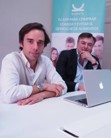 Eliseo Haro (izquierda) y Carlos Martin, responsables de Komefy.