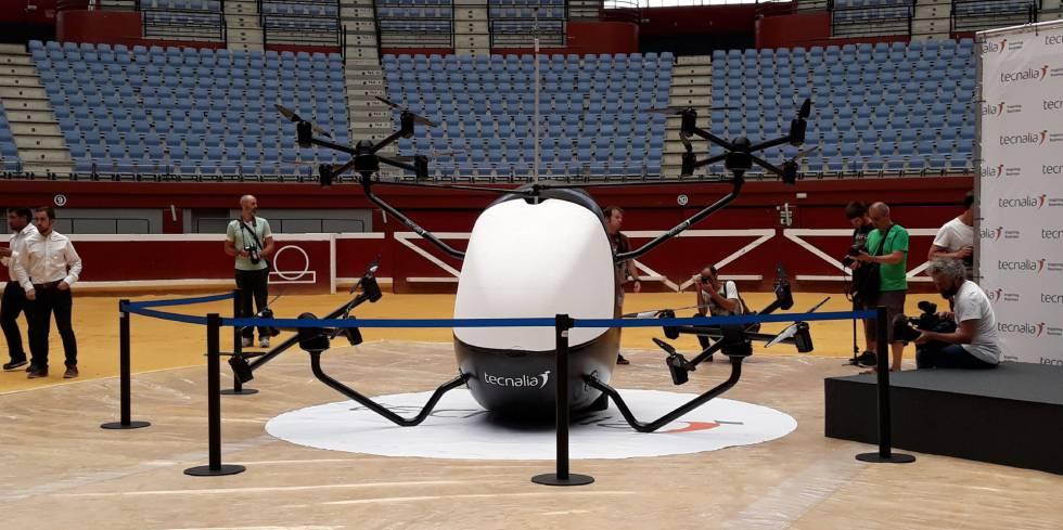 Prototipo de aerotaxi desarrollado por Tecnalia