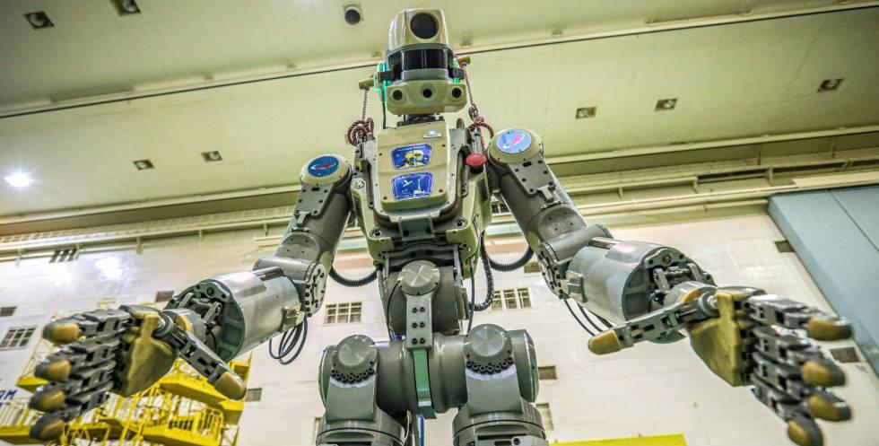 Fedor, el robot humanoide ruso.