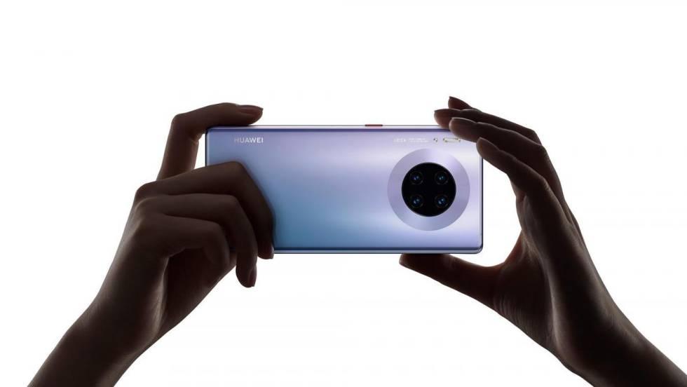 Cámara cuádruple del Huawei Mate 30 Pro.
