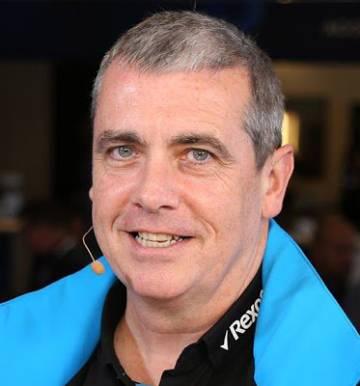 Graeme Hackland, jefe de información del equipo de Fórmula 1 de Williams.