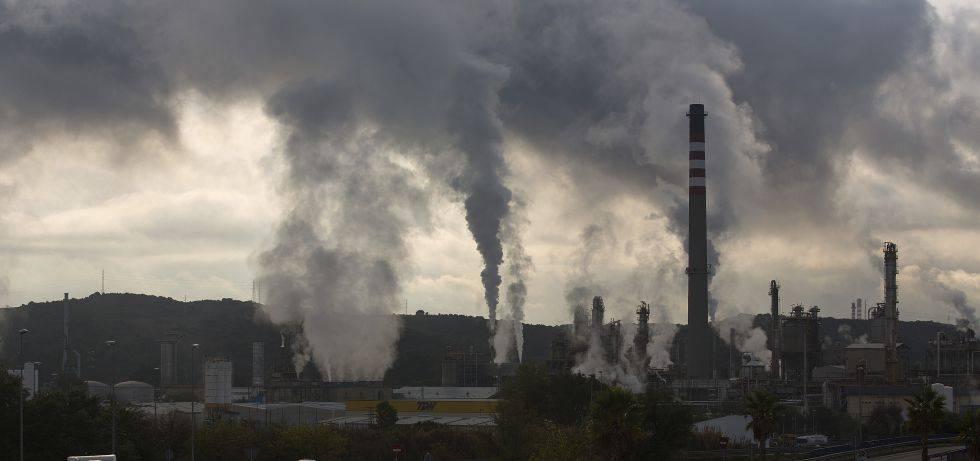 Una planta de hidrocarburos en la provincia de Cádiz.