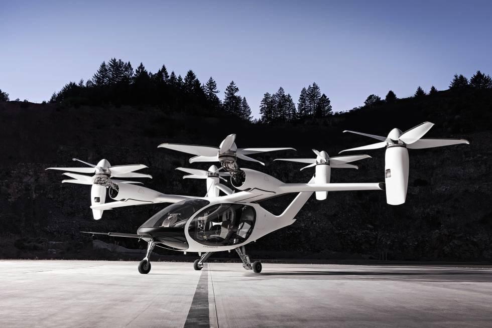 Modelo de coche volador de Joby Aviation