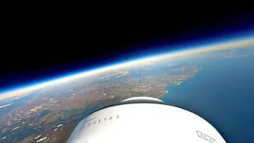 La empresa que ofrece viajes de Jaén a la estratosfera con cero emisiones