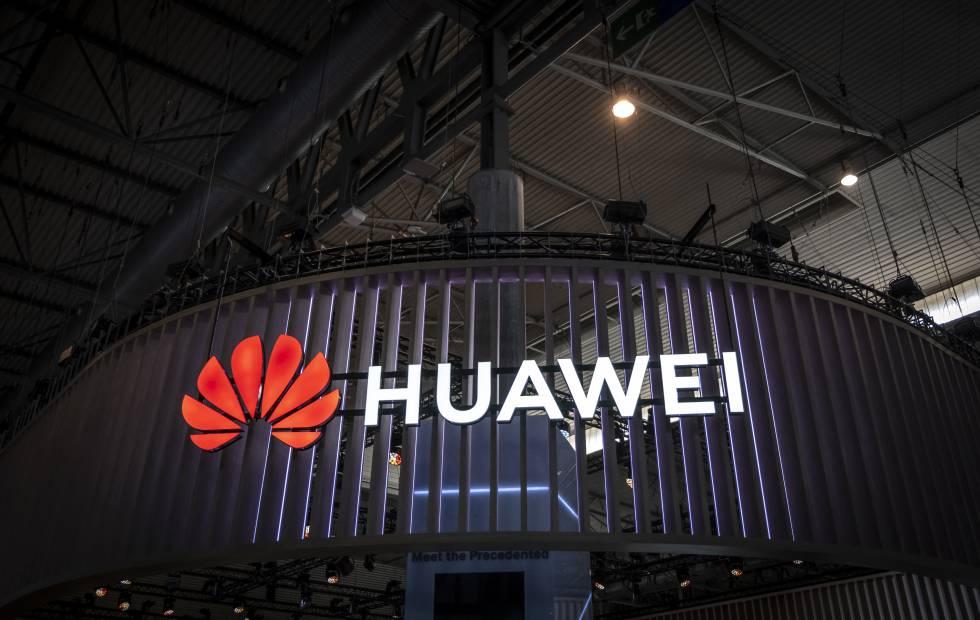 Estand de Huawei en el Mobile World Congress de 2019.