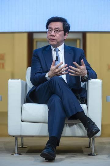 Kai Fu Lee en la sede de la Fundación BBVA