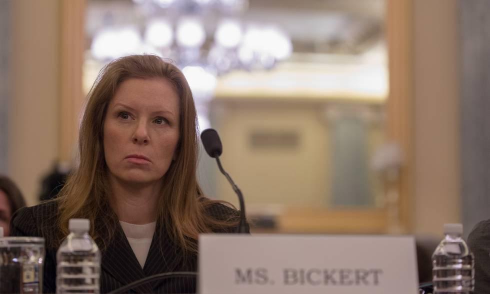 Monica Bickert comparece ante el Senado de EE UU el 17 de enero de 2018 en Washington D.C.