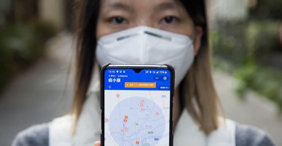 Aplicación que detecta afectados de coronavirus en las inmediaciones