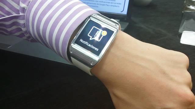 El reloj Galaxy Gear se conecta a las tabletas