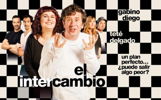 Teté Delgado y Gabino Diego protagonizan 'El Intercambio'