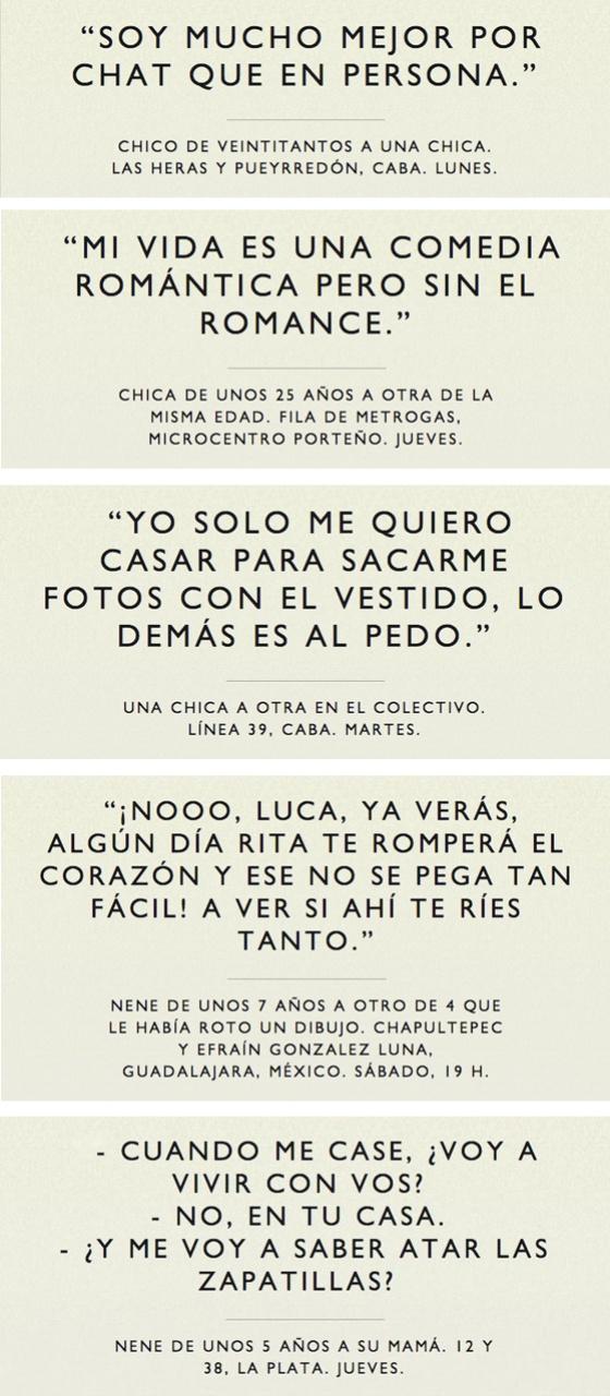 Las Mejores Frases Escuchadas Por La Calle Verne El Pais