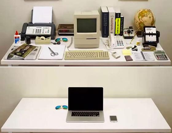 Evoluci n del escritorio c mo evitar el desorden dentro for Que hay en una oficina de trabajo