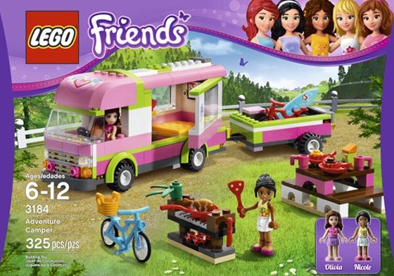 Lego gana puntos con un mensaje igualitario de los a os for Coleccion friends