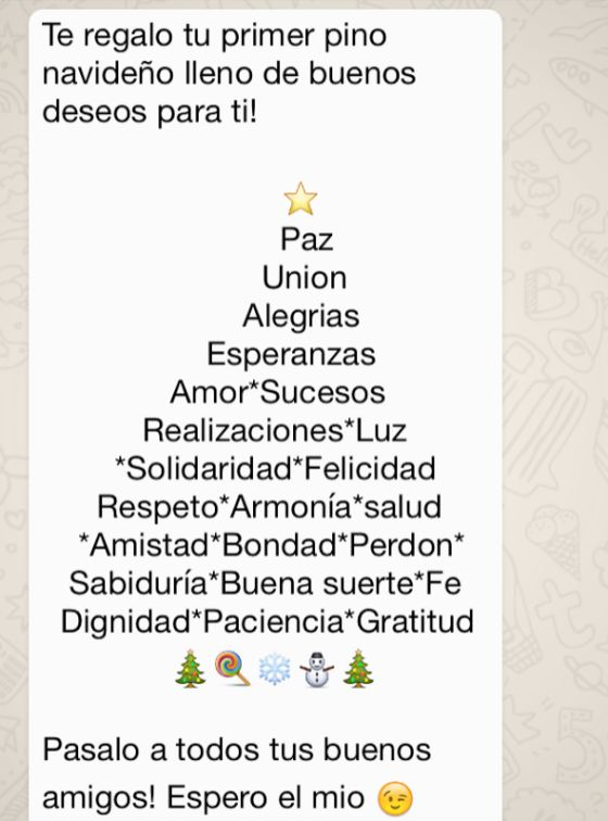 Felicitaciones navidad para mandar por whatsapp