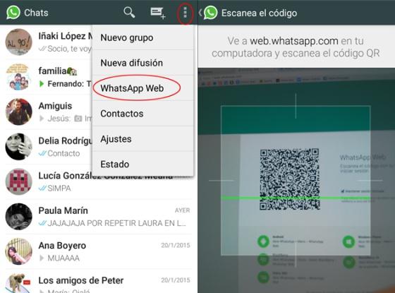 puedo ver las conversaciones de whatsapp en mi pc