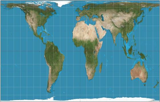 Todos os mapas que voc conhece so ruins  Cultura  EL PAS Brasil