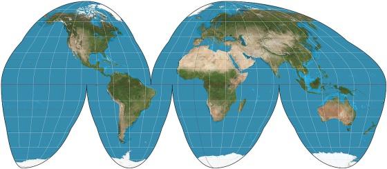 Todos los mapas que conoces estn mal  Verne EL PAS