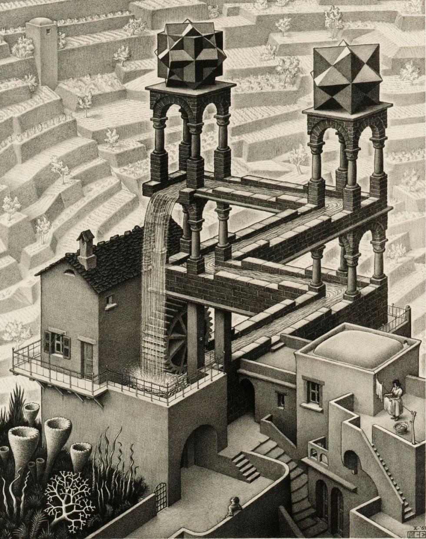 13 Ideas De M C Escher Arte De Escher Mc Escher Artistas
