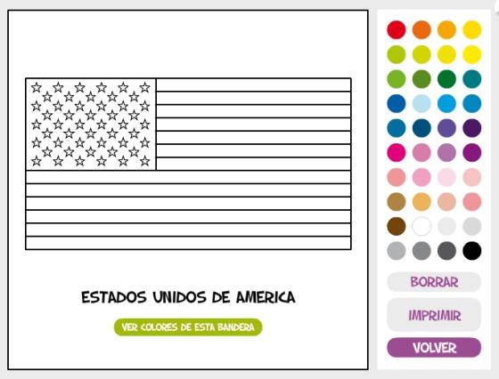 Pinta y colorea: ¿conoces bien las banderas de EE UU y Cuba? | Verne ...