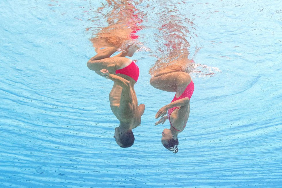 2507cc4a1c29 Si no sabías que también hay hombres en natación sincronizada, mira ...