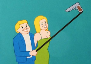 Eight cartoons demonstrating why we hate selfie sticks