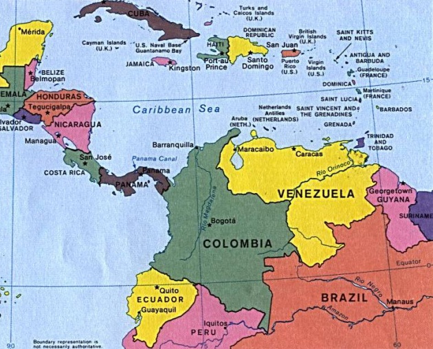 Mapa Sudamerica Y Centroamerica.Repaso De Geografia De America Central Y Del Sur Sabes