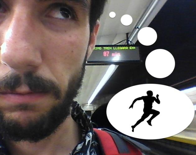 le eché una carrera al metro de madrid y gané | verne el paÍs