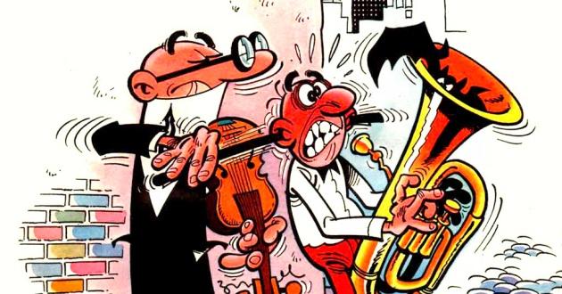 11 escenas que pasan en todas las historietas de Mortadelo y Filemón