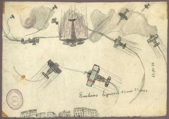La Guerra Civil, vista a través de los dibujos de los niños que la ...