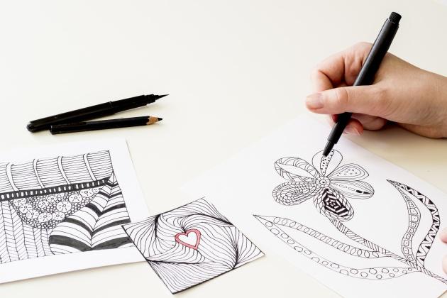 Los beneficios de dibujar y colorear de adulto, aunque no tengas ni ...