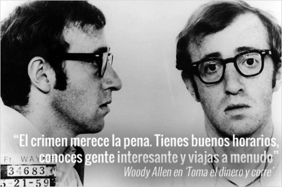 20 frases de Woody Allen sobre o sexo, a morte e a religião