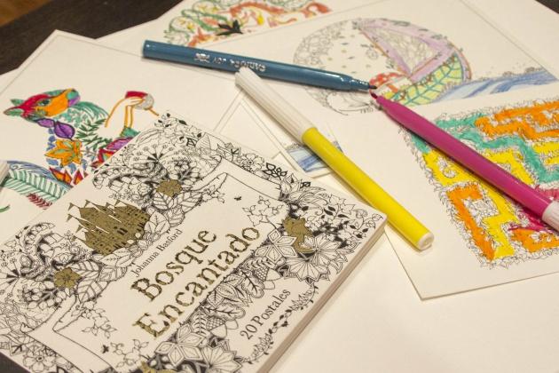 De verdad desestresan los libros de adultos para colorear? Hacemos ...