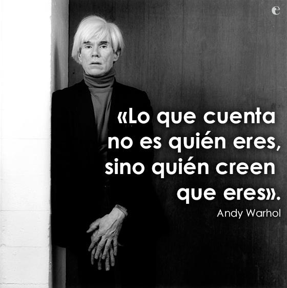 15 Frases Célebres De Andy Warhol Uma Por Cada Minuto De Fama