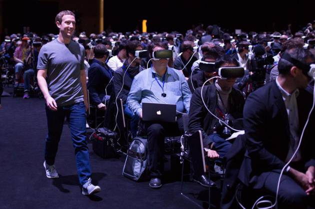 Mark Zuckerberg, no MWC, palestra sobre realidade virtual