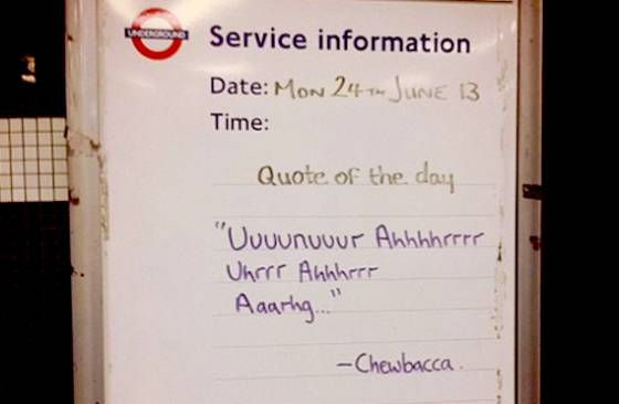 El Metro De Londres Te Anima El Viaje Con Una Frase Cada Día
