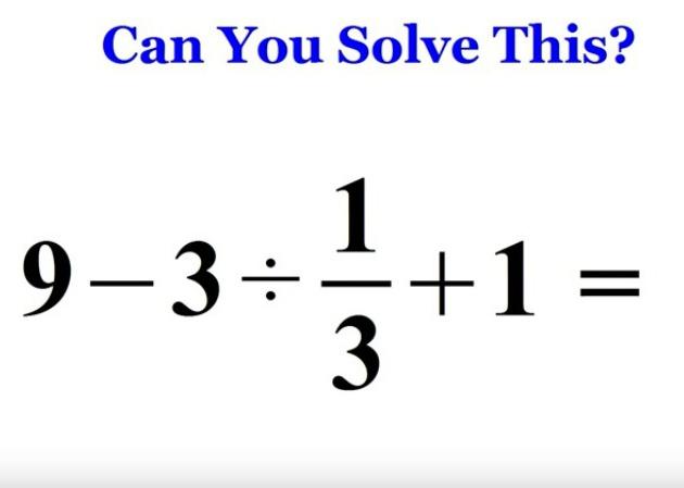 Si usas la calculadora para resolver este problema, puede que no ...