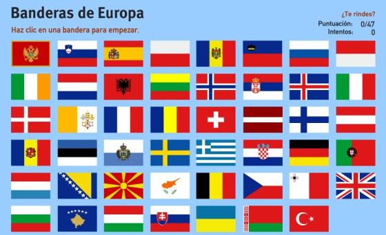 Da de Europa Cunto sabes de Geografa europea Localiza los