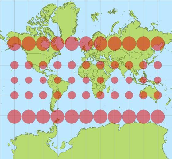 En Brasil caben 17 Españas: mapas para apreciar el tamaño real de los países