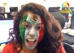 El filtro de MSQRD para ahorrarse la pintura facial en la Copa América ... ab543e3da2e