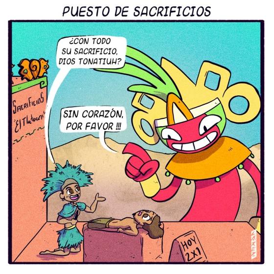 Así Pasaban Sus Ratos De Ocio Los Dioses Aztecas Según Este Cómic